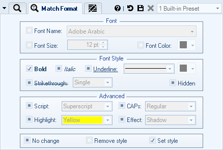 Remove Text Based on Formatting