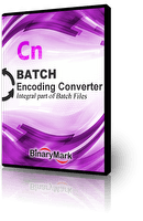 Batch Encoding Converter Box