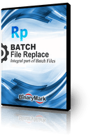 Batch File Replace product box