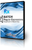Batch RegEx product box