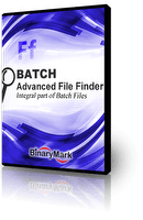 Advanced File Finder product box