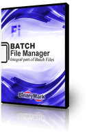 Batch File Manager product box