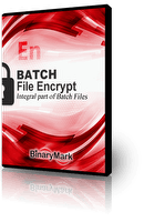 Batch File Encrypt product box