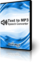 Text to MP3 Converter product box