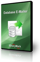 Database E-Mailer product box